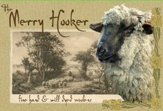 Marita Friedman from The Merry Hooker Woolens...Rug Hooking Patterns, Beautiful Wool Fabric, Townsend Cutters, Supplies and Kits