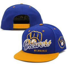 It's hard not to fall in love with anything blue and yellow, let alone a #Brewers cap as awesome as this.