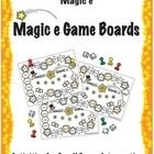 Perfect activity for your literacy centers!  Four Magic e game boards will keep your students engaged during independent work stations or during sm...