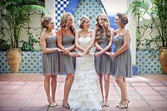 #bridesmaids and #bride #photos