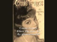 Connie Francis - Where The Boys Are (lyrics)