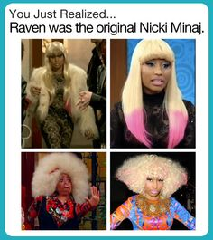 Raven did it first…