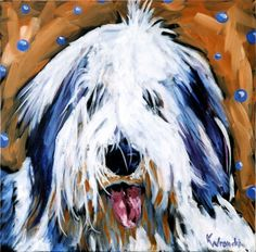 Hairy Dog pinned By http://Barkingstud.com