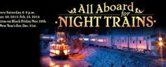 Last two weekends for Night Trains at the Twin City Model Railroad Museum