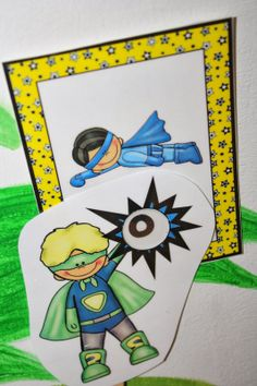 Free super hero focus wands and super hero templates!! Make super hero crowns!