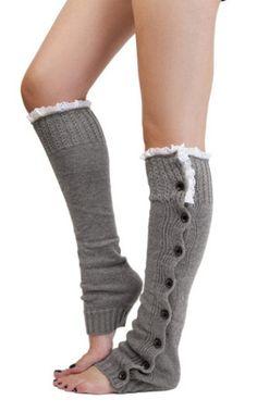 fashion, cloth, style, accessori, buttons, legs, grey button, boot socks, leg warmers