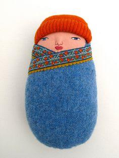 Basic Swaddled baby by Mimi K, via Flickr