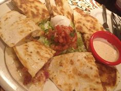 Mexican Chain Restaurant Recipes: Chicken Bacon Ranch Quesadillas