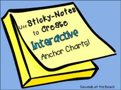 Use Sticky Notes to Create Interactive Anchor Charts