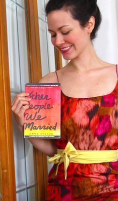 I did this. | Ok, this is simply brilliant. Fashion idea posing with Other People We Married by Emma Straub #booksarethenewblack