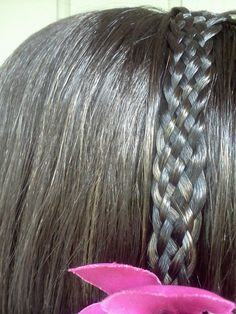 Seven strand braid. I learned this braid from watching a YouTube video.