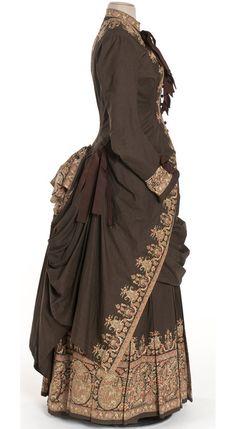 Dress, 1885, Les Arts Décoratifs