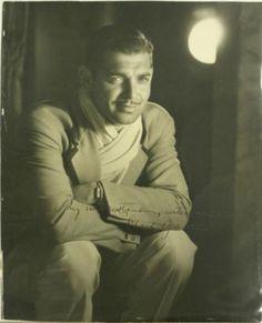 Clark Gable, what a man!