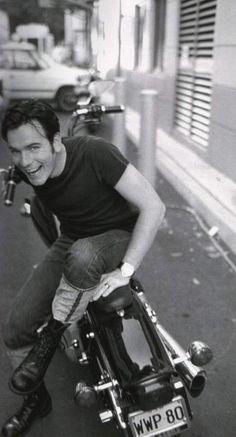Ewan McGregor & motorbike