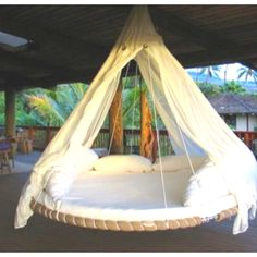 Trampoline bed... want to make one of these!