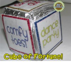 Cube of Fortune…a simple and free reward system that students will love!
