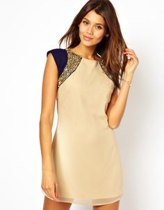 Love this dress for a #fall #wedding! @asos.com #embellished