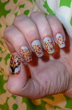 Talonted - Request: Autumn nails...