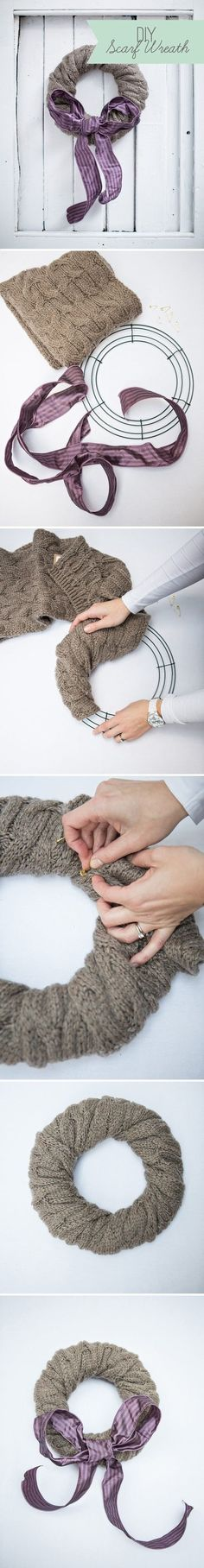 How to Make a scarf...