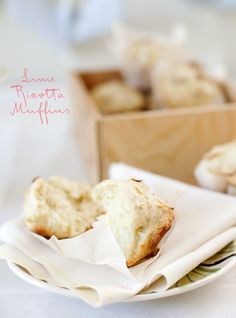 Lime Ricotta Muffins