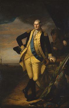 George Washington, 1780  Charles Willson Peale (American, 1741–1827) I have such a crush on General Washington!