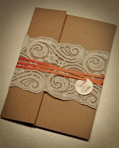 Lace Wedding Invitations.