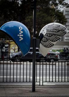 VIVO Call Parade - Phone Booth Art - Sao Paulo / Brazil   Photo by Mariane Borgomani