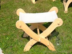Bed, bench and folding chair patterns