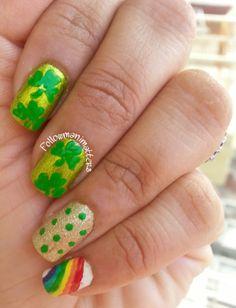 Mani Matters: St Patrick's Day nails