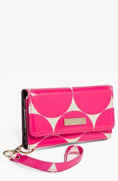 kate spade new york 'deborah dot' iPhone 5 wristlet available at #Nordstrom