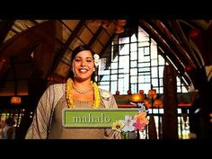 Hawaiian Word of the Week: mahalo  thank you