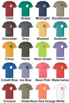 Comfort colors!