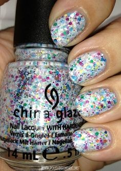 "China Glaze ""It's A Trap-eze"" from their Cirque du Soleil Collection...Love it!"