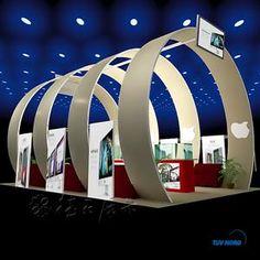Circle Trade Show Booth Design