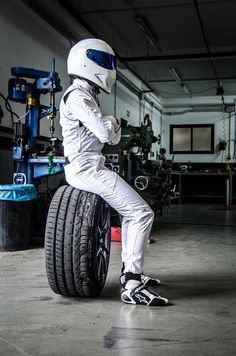 The Stig murdered this tire