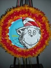 Cat in the Hat Pull String Pinata
