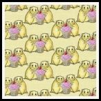 member's free hamster backing paper pack yellow