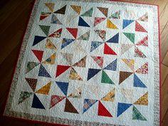 pinwheel summer quilt