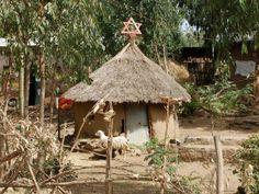 Jewish synagogue near Gondar, Ethiopia by mjbiusa, via Flickr