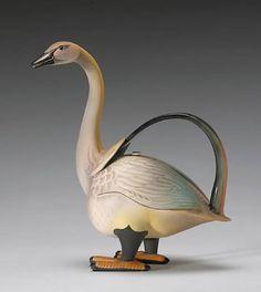 """Annette Corcoran """"Goose"""" teapot"""