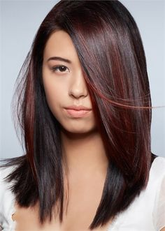Raspberry red Eclipting Color by Aveda Global Artistic Director for Hair Color, Ian Michael Black. Now on Modern Salon!
