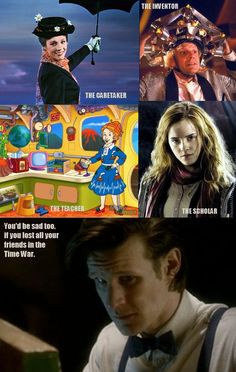Timelords, an amazing race.