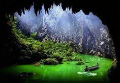 Coridor to snow peaks, China