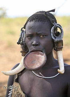 Africa   Mursi tribe, South Omo Valley, South Ethiopia   © Makis Siderakis