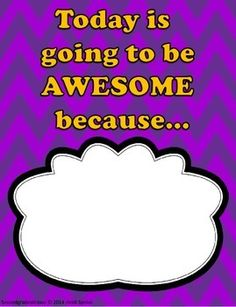 FREE Today is Going to Be Awesome Because....  (Poster)