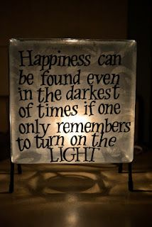 Dumbledore quote light box. Im making this. I have a box with lights already in it and have been wondering what I could do with it, now I know!