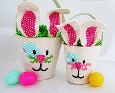 Fabric Easter Basket Pattern