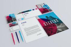 Stero2 by infostyle.itembridge , via Behance #Business #Card #Stationery #Branding