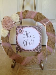 DIY Printable Shabby Chic Baby Shower by VeryPrettyParties on Etsy, $25.00
