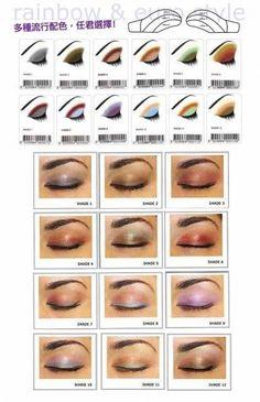 How to Apply Eye - Makeup eyeshadow
